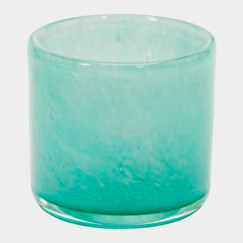 Los Pinos - Waxinelicht Houder Turquoise