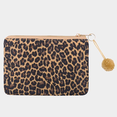 Make Up Bag Leopard